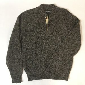 ROYAL KNIGHT men's wool sweater size L